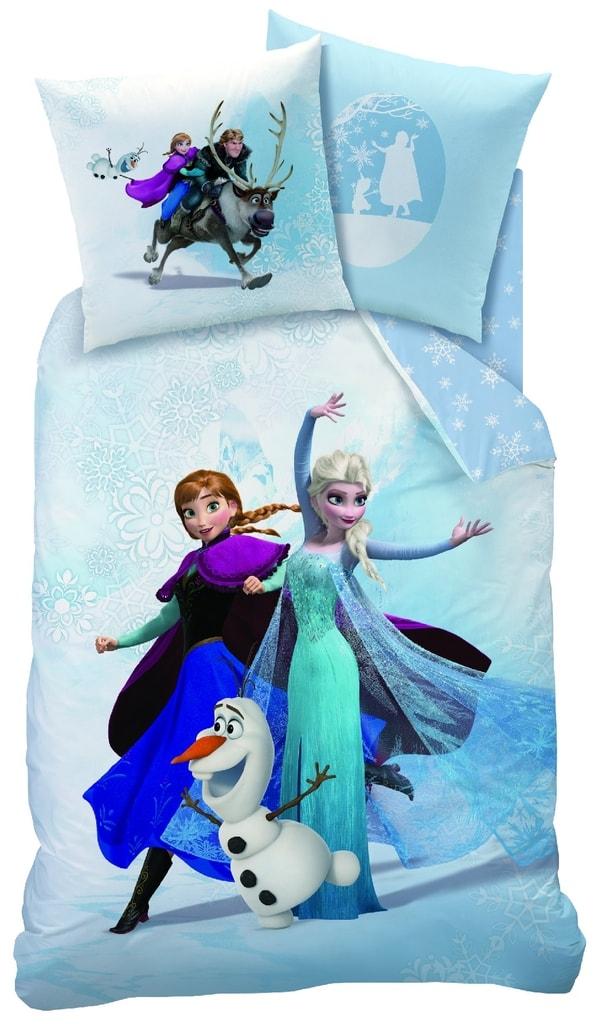 CTI Povlečení Frozen Enjoy (Ledové království) 140x200,70x90