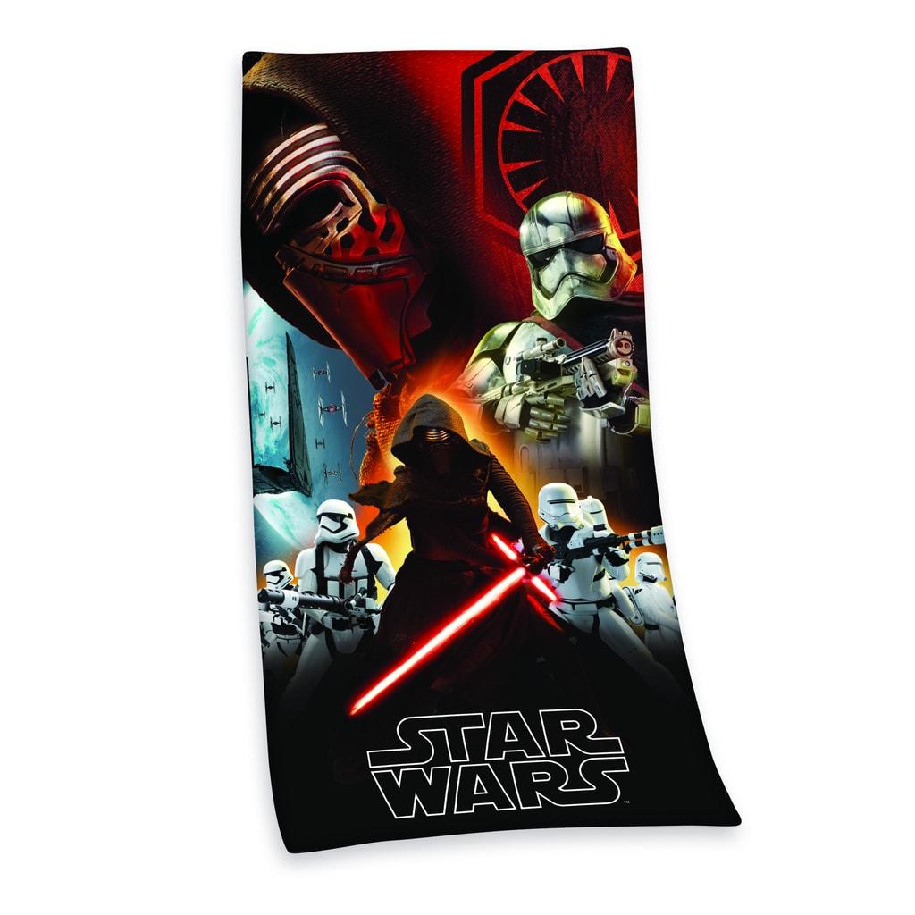 Herding Herding osuška Star Wars Hvězdné války-Síla se probouzí 75x150cm