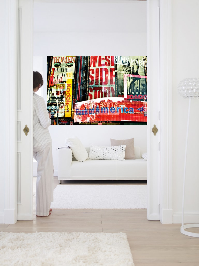 Wizard+Genius W+G Giant Art® NYC Times Square - neony 175x115 cm