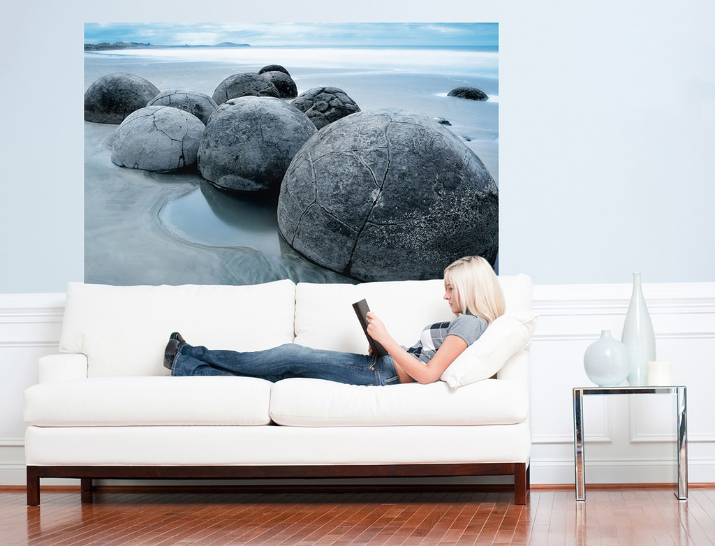 Wizard+Genius W+G Giant Art® Plážové kameny 175x115 cm