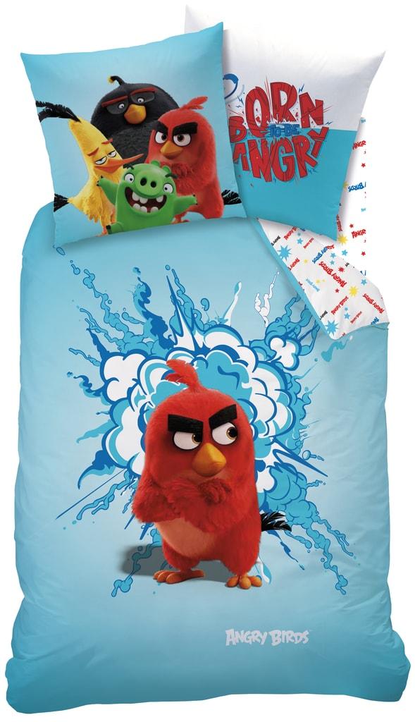 CTI CTI povlečení Angry birds RED 140x200,70x90