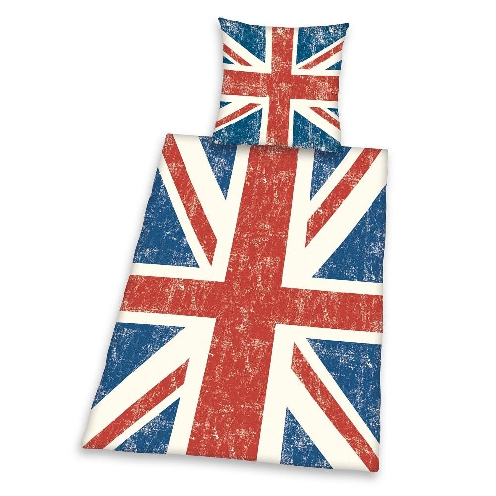 Herding Povlečení Anglická vlajka 135x200/80x80 cm