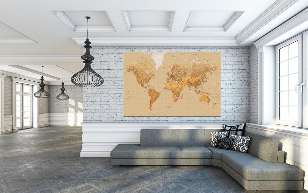 Wizard+Genius W+G Giant Art® Stará mapa 175x115 cm