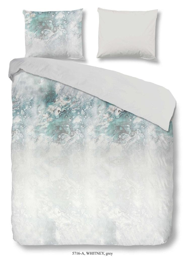 Good Morning 3D povlečení Good Morning 100% bavlna Whitney Grey - 200x200-220 / 2x60x70 cm
