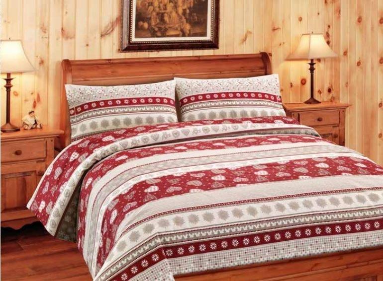 Gipetex Natural Dream Italské povlečení bavlna LUX Corvara - 140x200cm / 70x90cm