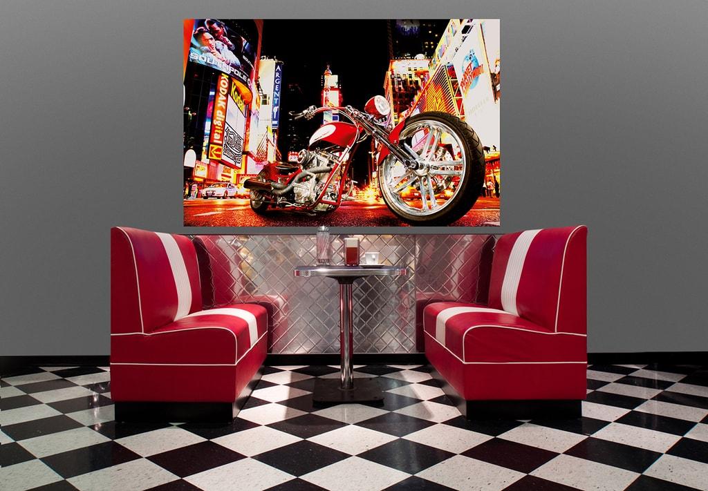Wizard+Genius W+G Giant Art® Půlnoční jezdec 175x115 cm
