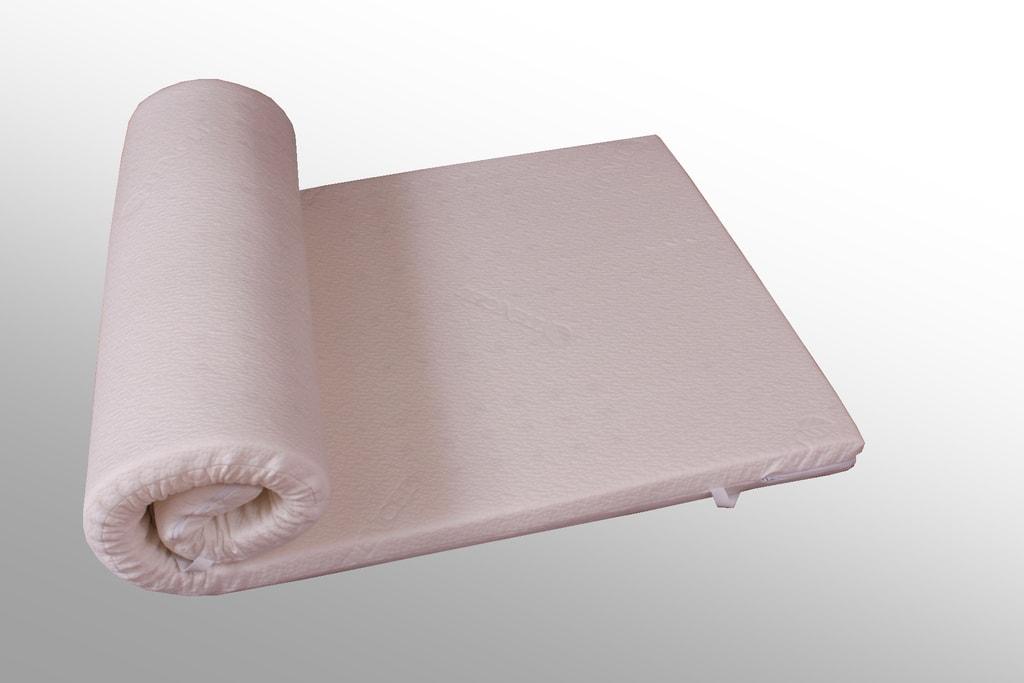 VISCOPUR Vrchní paměťová matrace (přistýlka) VISCOPUR® Tencel® - 80x200 cm | 4 cm