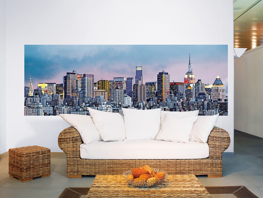 Wizard+Genius W+G fototapeta Newyorské mrakodrapy 366x127 cm