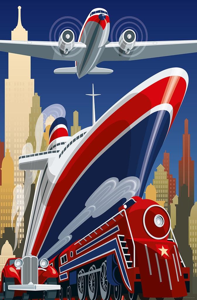 Wizard+Genius W+G Giant Art® Travel 115x175 cm