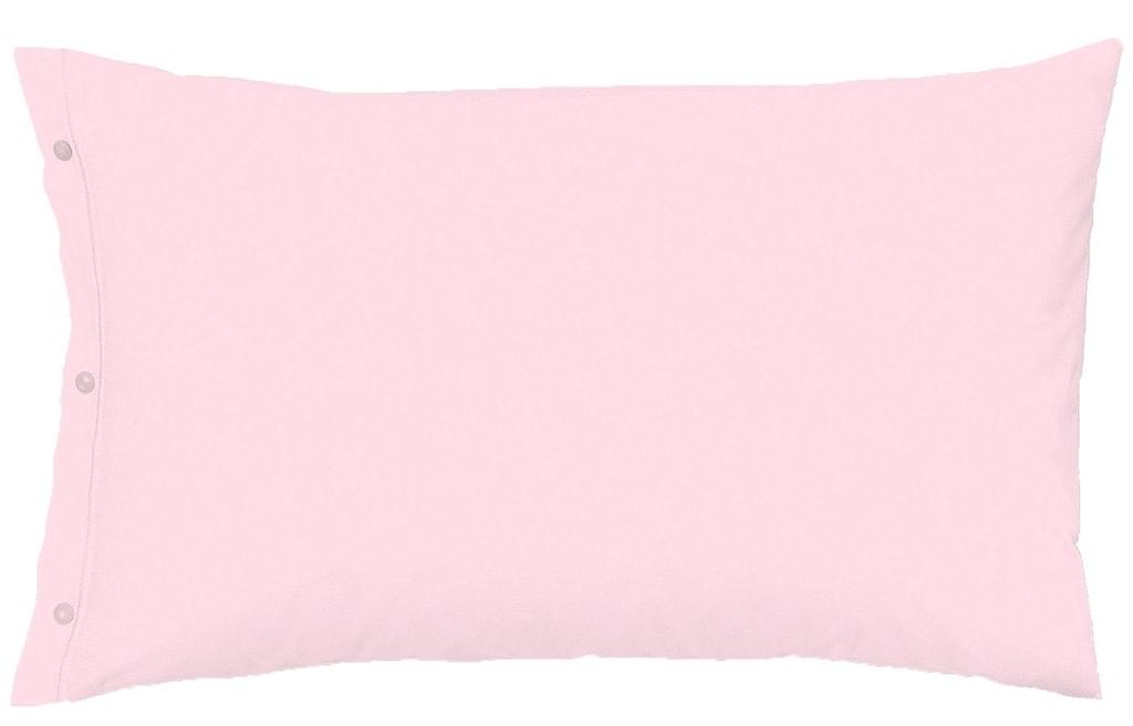Gipetex Natural Dream Povlak na polštář italské výroby 100% bavlna - 2 ks růžová - 2 ks 70x90 cm