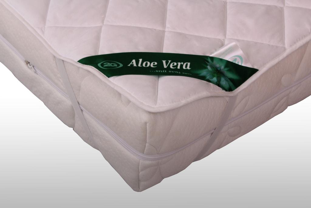 2G Lipov Chránič matrace (podložka) Aloe Vera - 200x200 cm | 1ks (sleva 50%)