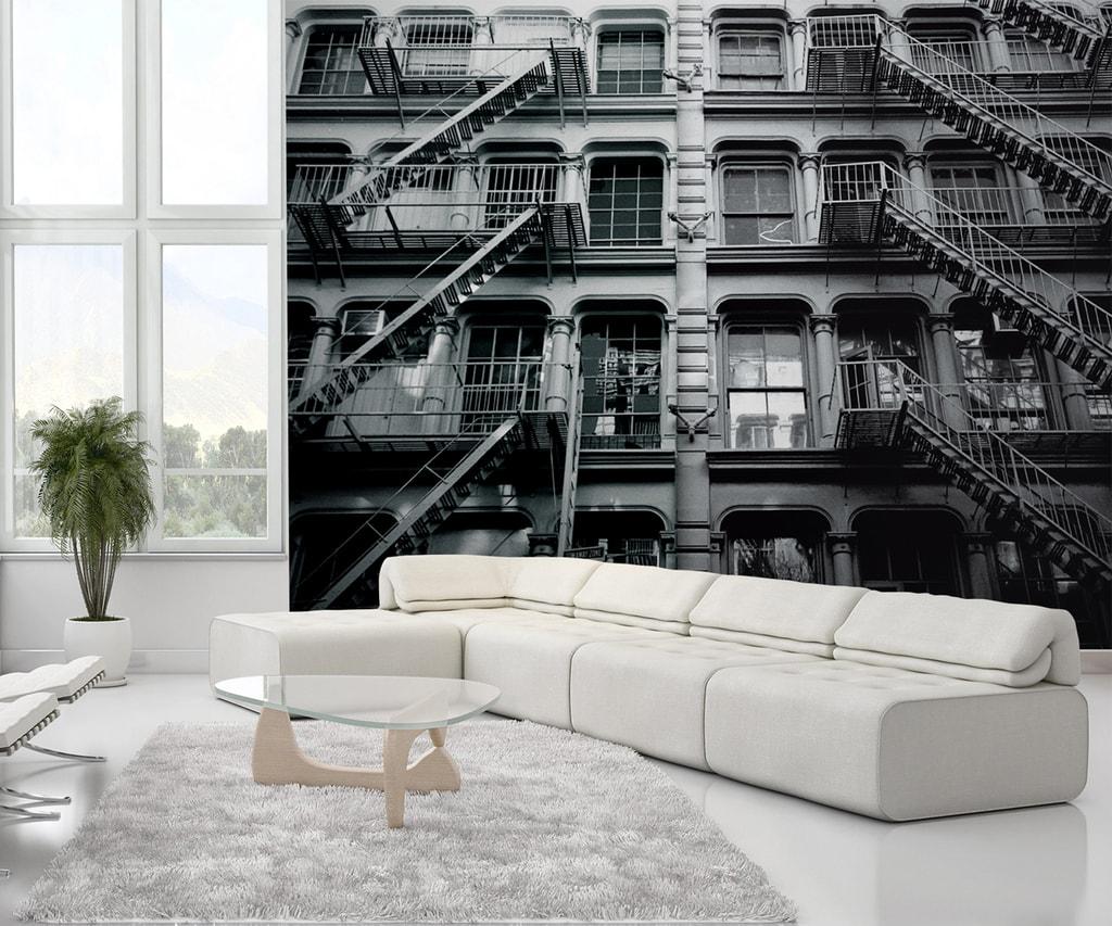 1Wall 1Wall fototapeta New York bytový dům 315x232 cm