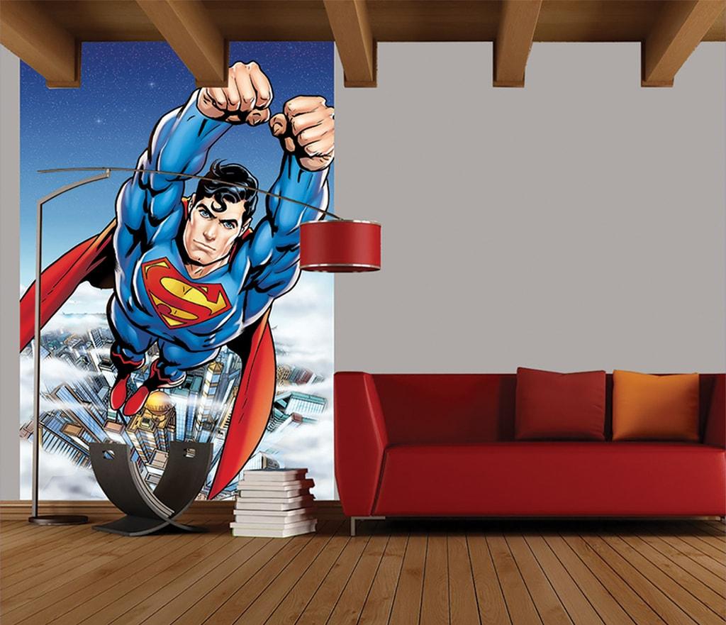 1Wall 1Wall fototapeta Letící Superman 158x232 cm