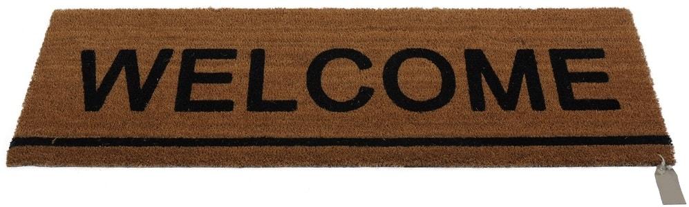 Home collection Kokosová rohožka 40x120cm s nápisem Welcome