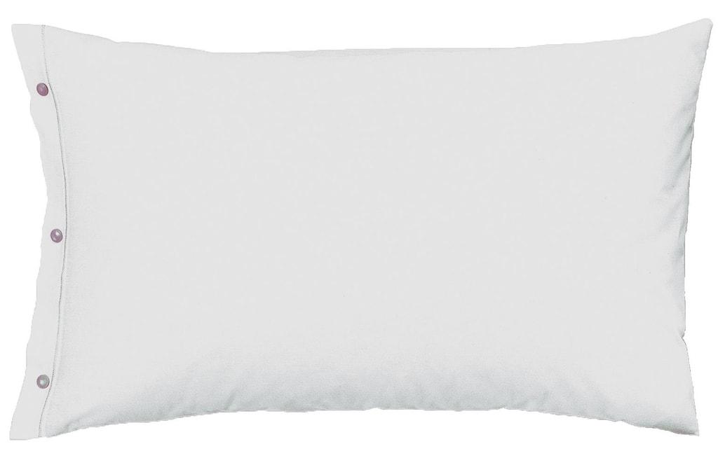 Gipetex Natural Dream Povlak na polštář italské výroby 100% bavlna - 2 ks sv.šedá - 2 ks 70x90 cm