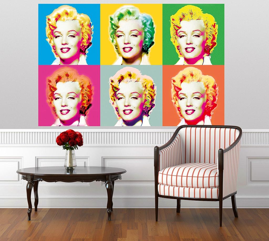 Wizard+Genius W+G Giant Art® Marilyn Monroe 175x115 cm