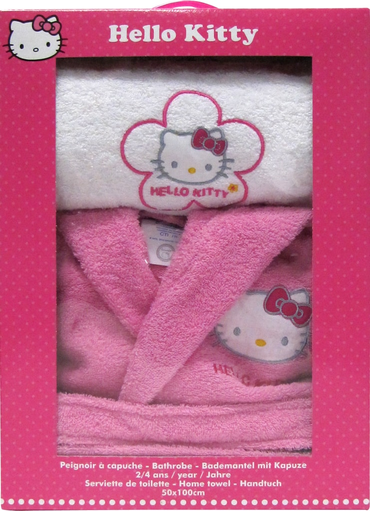 CTI CTI Župan Hello Kitty Lucie dárková sada s ručníkem - 10 až 12 let (vel. 134-152)