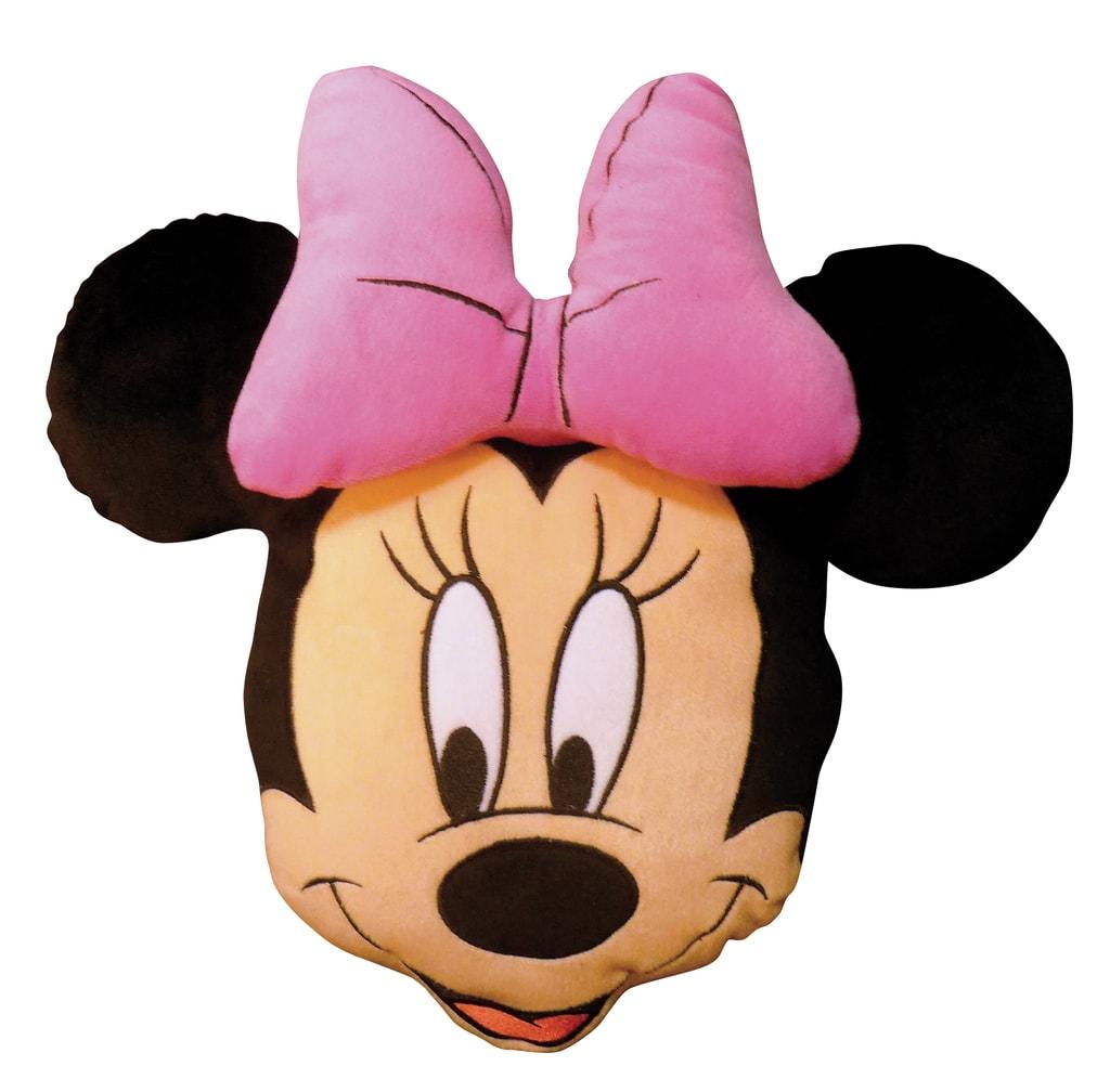 CTI 3D polštářek Minnie Stylish rose-hlava 38cm