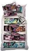 Povlečení Monster high White velvet-140x200,60x80