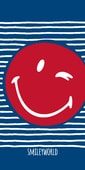 Osuška Smiley smajlíci Sailor 75x150 cm