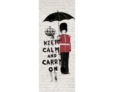 1Wall fototapeta Keep calm 95x210 cm